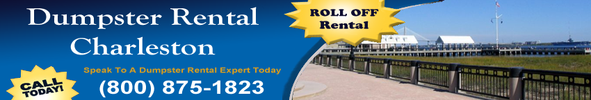 dumpster rental Charleston